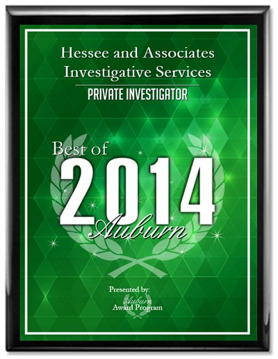 2014 Private Investigator of the Year Award